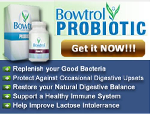 Bowtrol Probiotics'