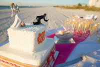Florida beach wedding receptions