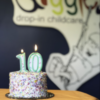 Giggles Drop-In Childcare Announces Ten Year Anniversary