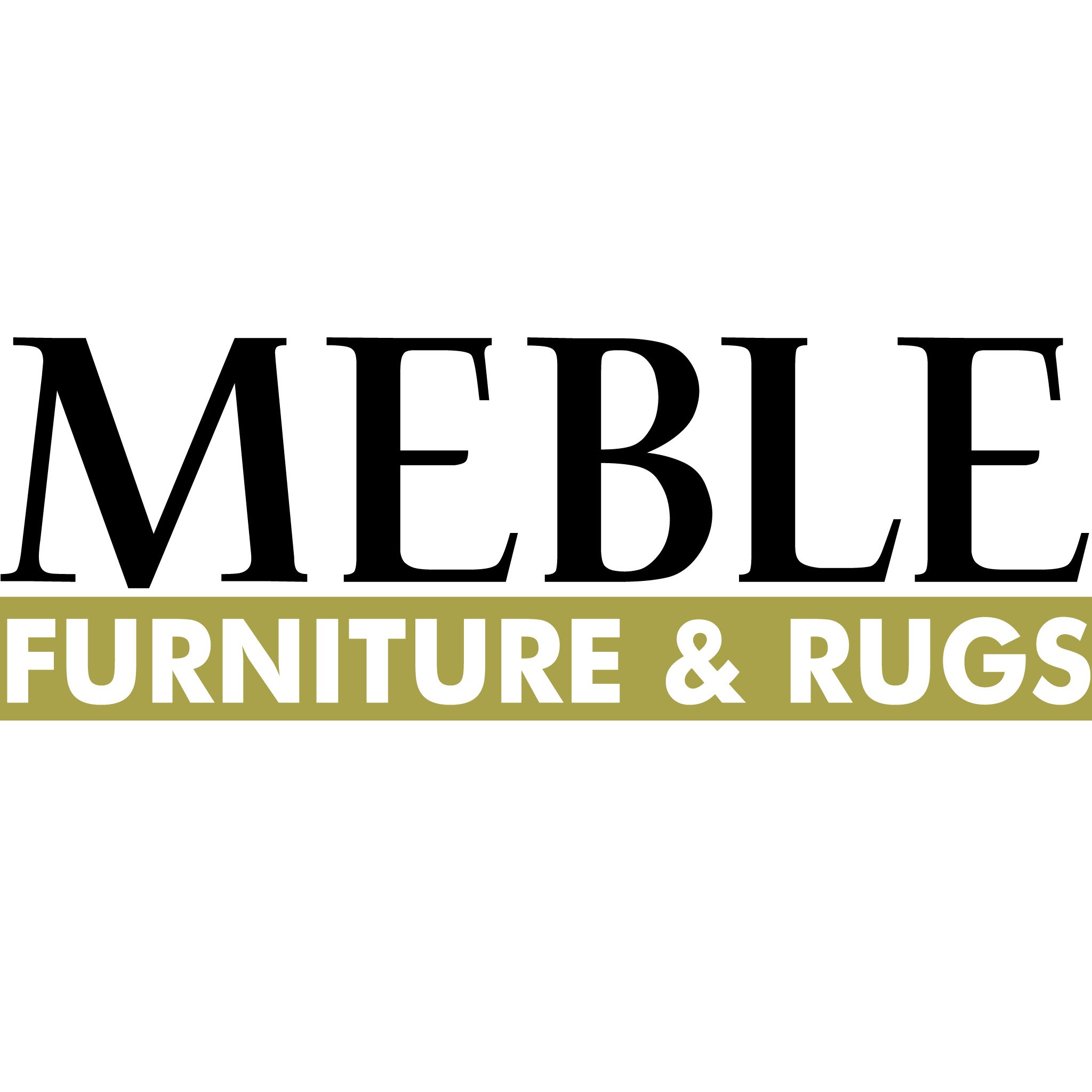 Meble Furniture and Rugs Logo