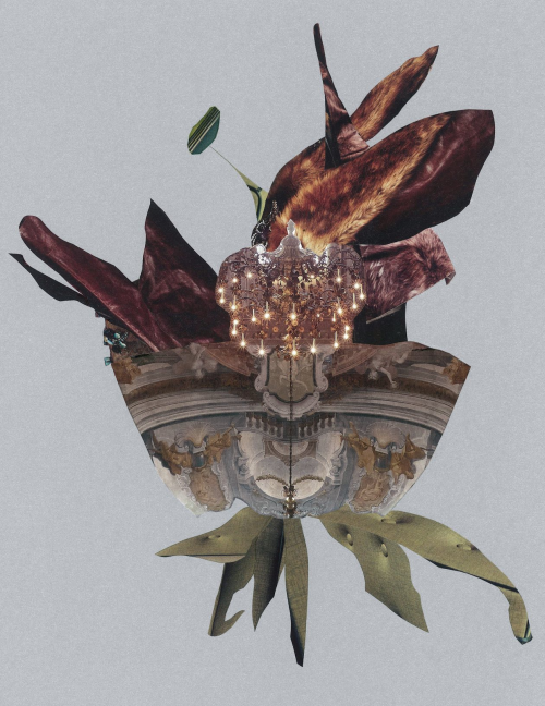 Visual & Collage Artist, Denise Cummings'