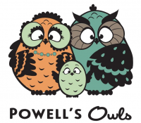 Powell's Owls Logo