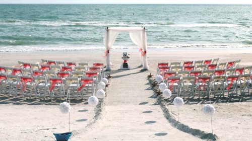 Beach House Wedding'
