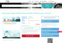 Worldwide Major Mobile Phone Vendor Performance, 4Q 2017