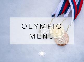 Olympic Catering Menu'