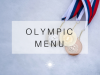 Olympic Catering Menu'