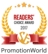 Readers Choice Award For the Best SEO Company'