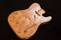 Wallace Detroit Guitars' Reclaimed Guitar Bodies