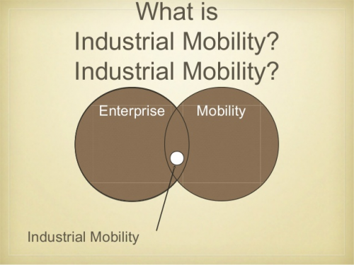 Industrial Mobility market'
