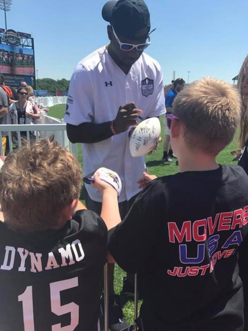 Movers USA Joins the Baltimore Ravens At Ripken Stadium'