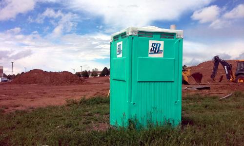 Construction portable toilets'