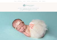 Magnolia Moments Photography Website Homepage