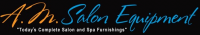 AM Salon Equipment Logo