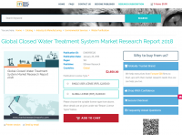 Global Closed Water Treatment System Market Research Report