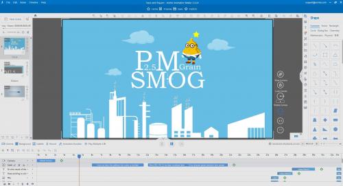 Animiz cartoon animation software'