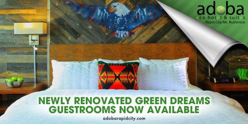 Adoba Eco Hotel Rapid City/Mt. Rushmore Partners with Allegi'