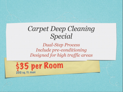 Logo for clean carpets'