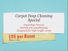 Logo for clean carpets'