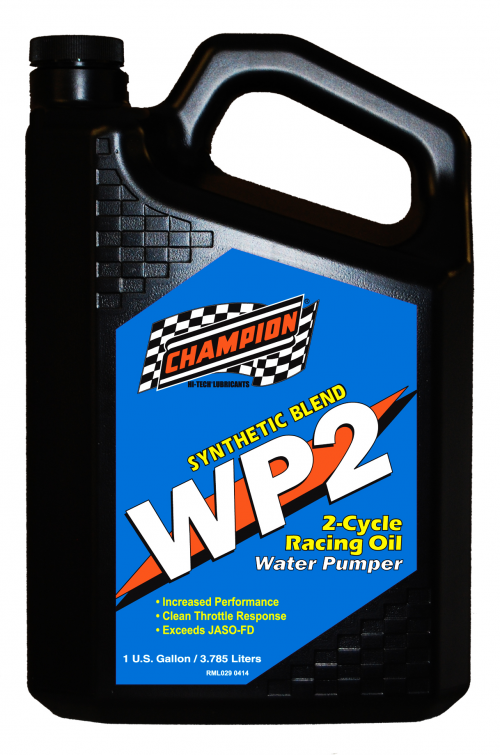Champion Brands Launches WP2 2-Cycle Racing Oil'