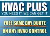 HVAC Control Parts'