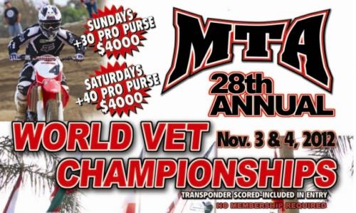 World Famous Veteran Motocross Championship at Glen Helen.'