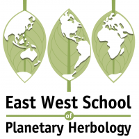 East West School of Planetary Herbology Logo