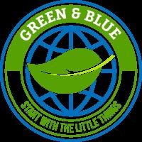 Green & Blue Logo