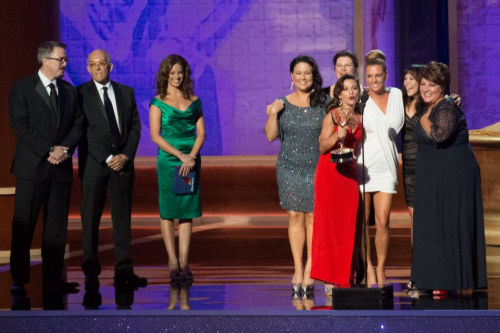 Dancing With the Stars Makeup Team accepts Emmy®'