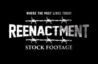 Reenactment Stock Footage Logo