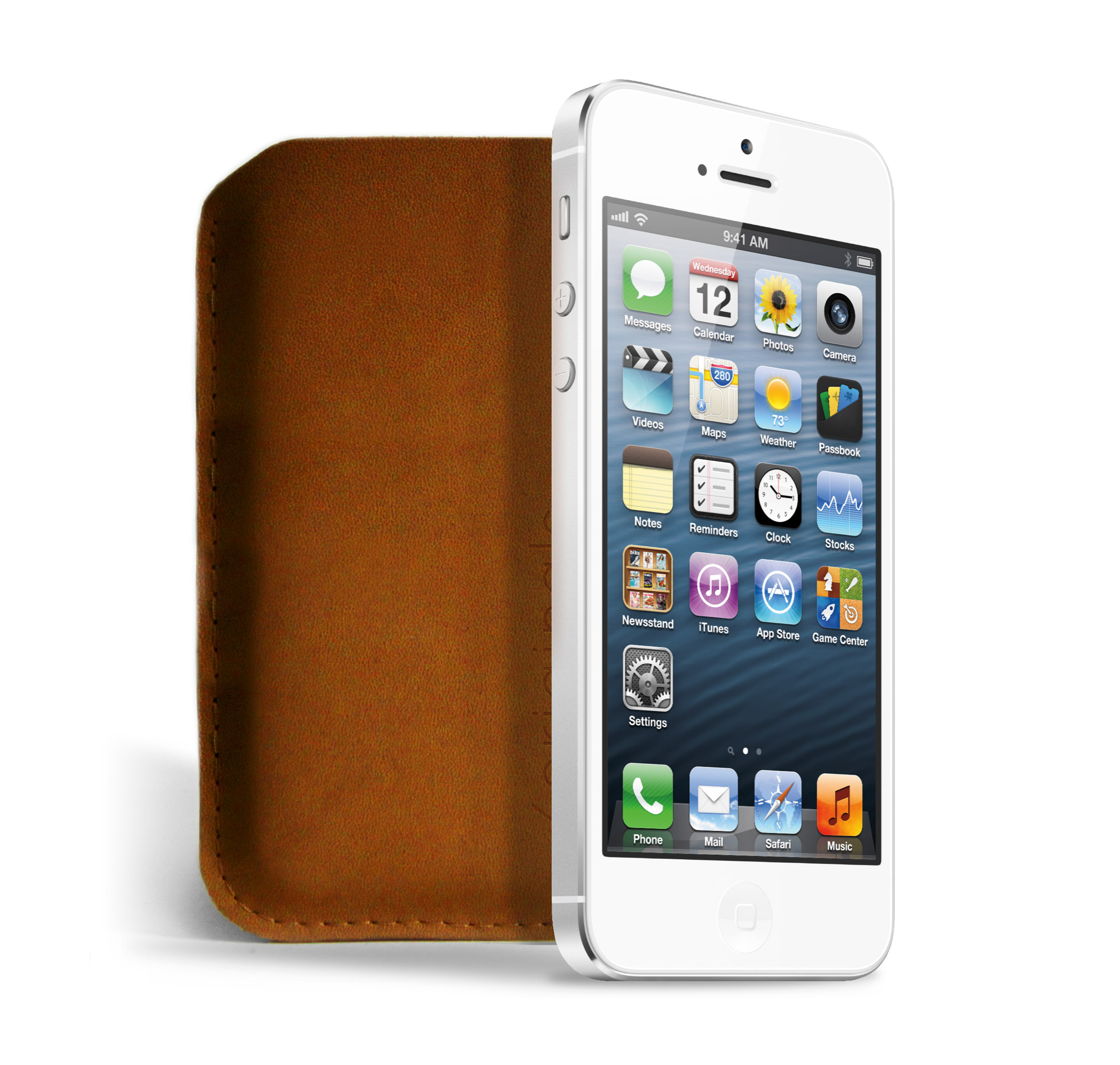 Mujjo iPhone 5 leather sleeve