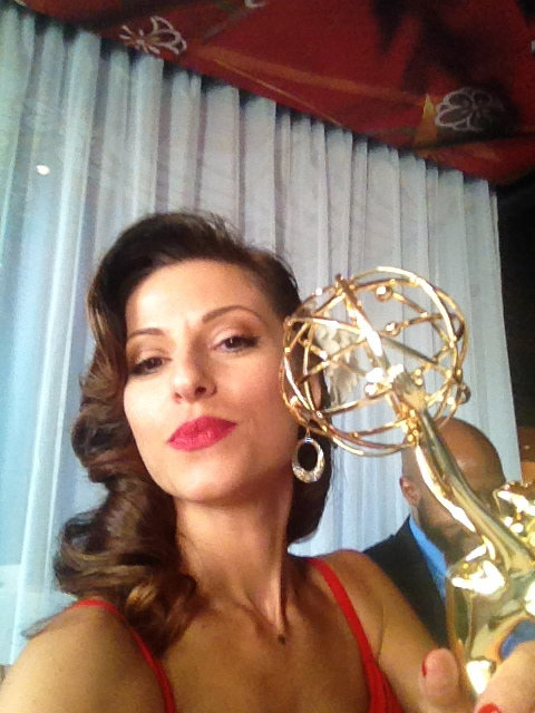 Zena Shteysel With Her Dancing With the Stars Emmy®'