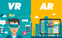 Augmented, Virtual Reality Content & Application