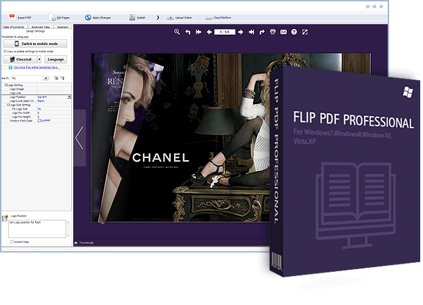 FlipBuilder Unveils Its Flipbook Maker for Designers