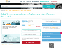 Global Transcatheter Aortic Valve Replacement Market 2018