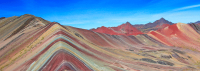 2) Rainbow Mountains of South America: Peru + Argentina
