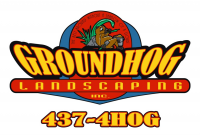 Groundhog Landscaping Inc. Logo