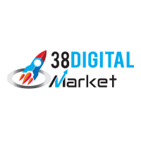 38 Digital Market Logo