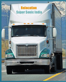 Logo for Relocation Super Sonic India'