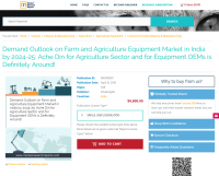 Demand Outlook on Farm and Agriculture Equipment Market