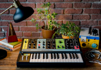 GRANDMOTHER:  MOOG MUSIC DEBUTS NEW SYNTHESIZER AT MOOGFEST