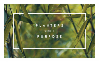 Planters with a Purpose Logo