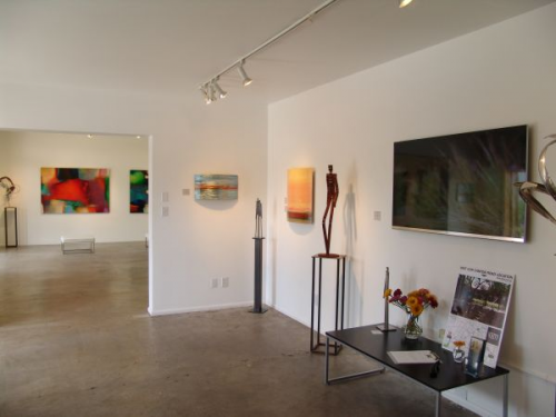 Interior View of Mark White Contemporary Art'