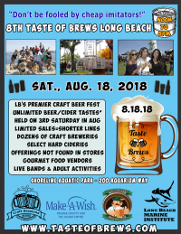 8th Taste of Brews Long Beach n 8.18.18