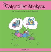 Caterpillar Stickers'