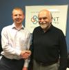 Bob welcomes Luke to Grant Marketing'
