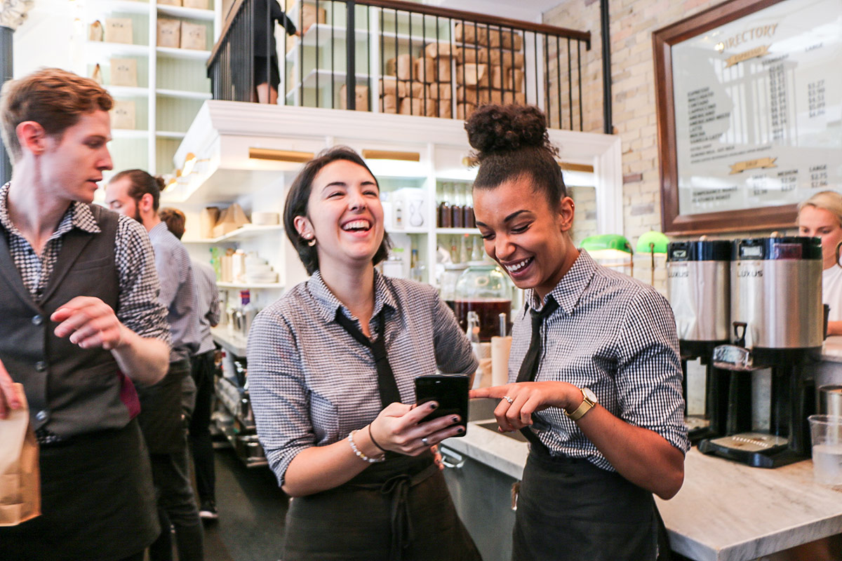 7shifts customer Dineen Coffee in Toronto, Ontario