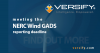 Versify Meets NERC Wind GADS 2018 Q1 Submission'