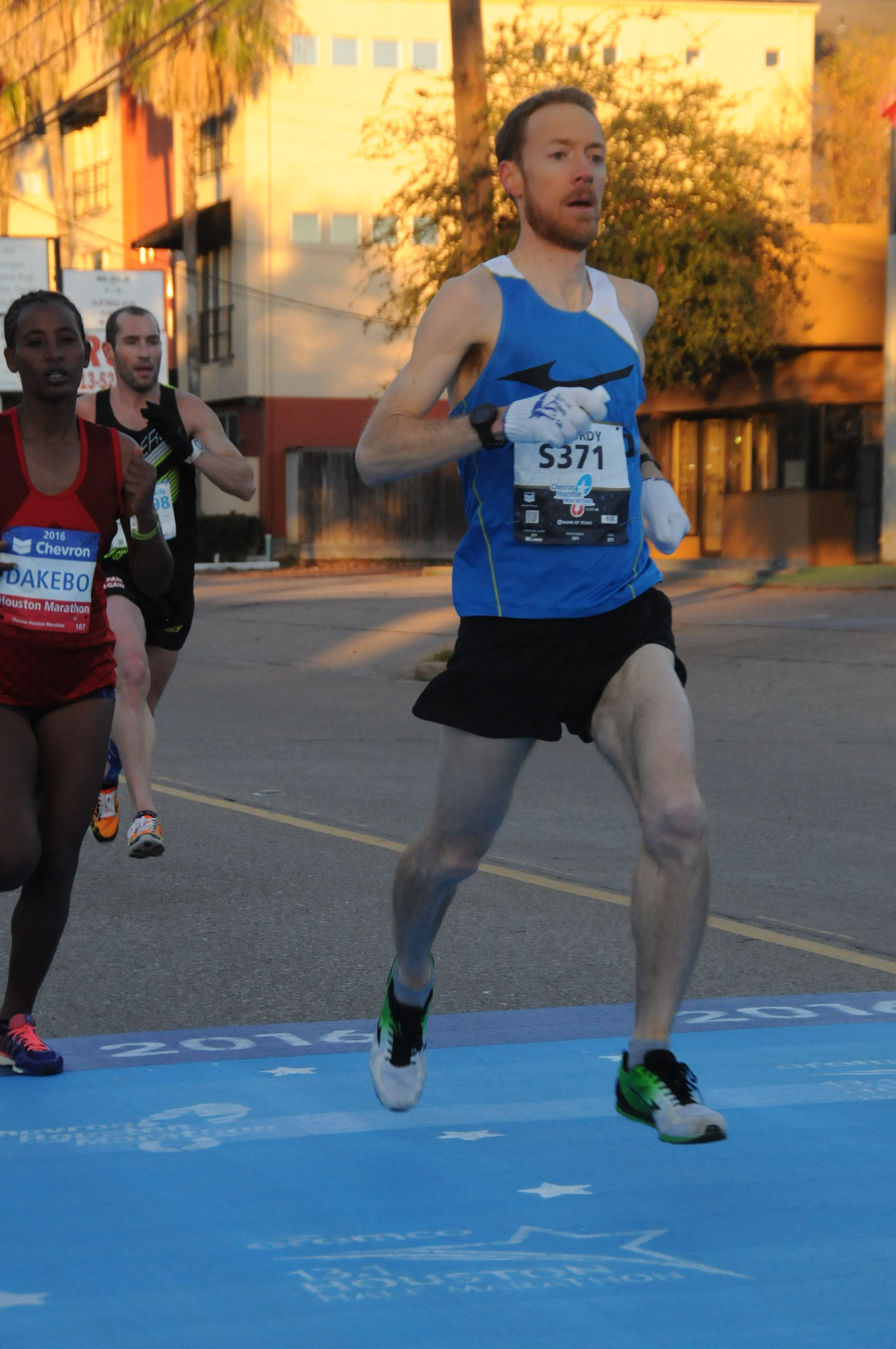 Matt McCurdy Houston Marathon 2016