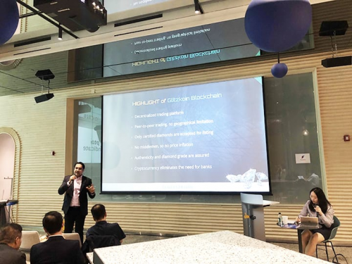Navneet Goenka Presents at an Investors Meet in Seoul'