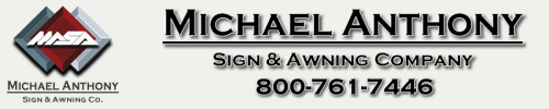 Company Logo For Michael Anthony Sign & Awnings Comp'